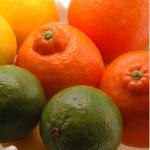 three citrus in white bowl